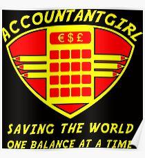 Accountantgirl Poster