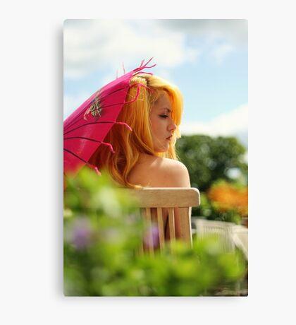 apricot sundae Canvas Print