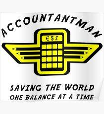 Accountantman Poster