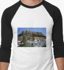 The Acropolis at Lindos Men's Baseball ¾ T-Shirt