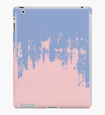 Rose Quartz and Serenity Blue Paint Strokes iPad Case/Skin