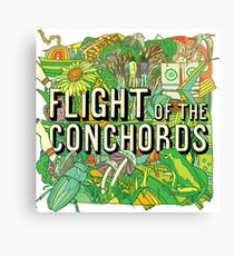 Flight of the Concords New zelands Bret Jemaine Canvas Print