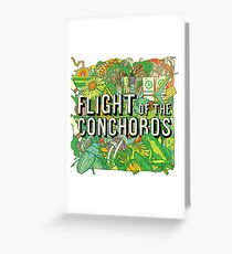 Flight of the Concords New zelands Bret Jemaine Greeting Card