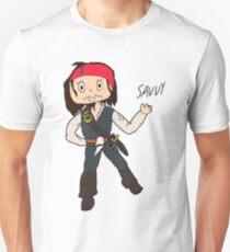 Chibi Captain Jack Sparrow Unisex T-Shirt