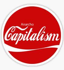 Anarcho Capitalism Design 2 Sticker