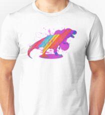 Jarrasic Rainbow-saur Unisex T-Shirt