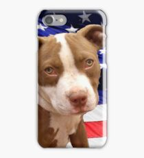 American pitbull Terrier puppy iPhone Case/Skin