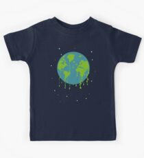 global warming tshirt Kids Clothes