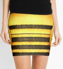 Now I'm a Bee! - Pencil Skirt Design Mini Skirt