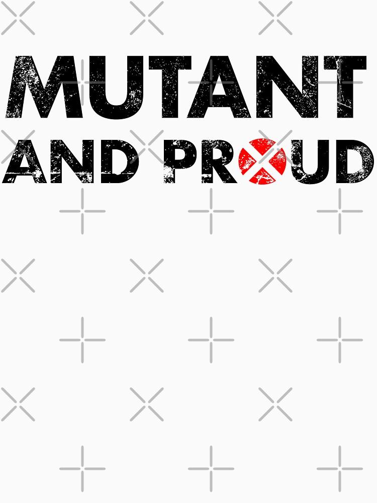 Mutant and proud - black by LabRatBiatch