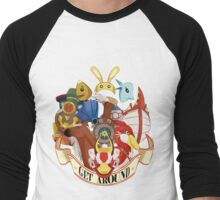 Get Around Men's Baseball ¾ T-Shirt