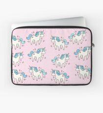 Unicorn Scatter Pattern Laptop Sleeve