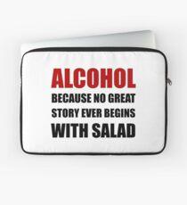 Alcohol Salad Laptop Sleeve