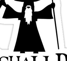 Gandalf You Shall Pass LOTR Lord Of The Rings Sticker