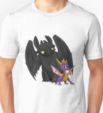Spyro and Toothless Unisex T-Shirt