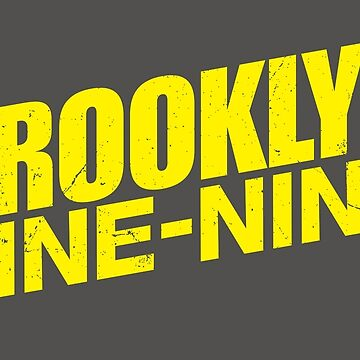 Brooklyn nine nine - tv series by EnjoyRiot