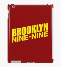 Brooklyn nine nine - tv series iPad Case/Skin