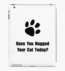 Hugged Cat iPad Case/Skin