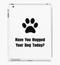 Hugged Dog iPad Case/Skin