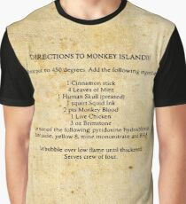 Directions to monkey island Graphic T-Shirt