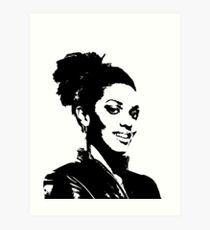 Martha Jones Art Print