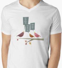 Three little birds Men's V-Neck T-Shirt