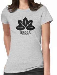 Broga Womens Fitted T-Shirt