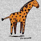 Baby Giraffe by David Barneda