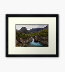 The Fairy Pools Waterfalls, Isle of Skye Framed Print
