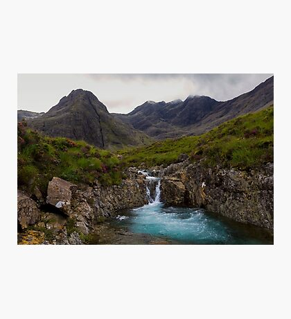 The Fairy Pools Waterfalls, Isle of Skye Photographic Print