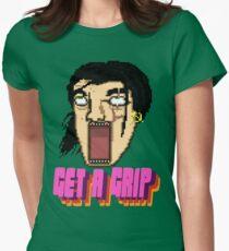 Get a Grip! Women's Fitted T-Shirt