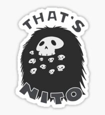 That's Nito (colored text!) Sticker