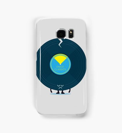 Character Building - Last Night a DJ Wrecked my Life Samsung Galaxy Case/Skin
