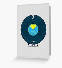 Character Building - Last Night a DJ Wrecked my Life Greeting Card