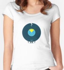Character Building - Last Night a DJ Wrecked my Life Women's Fitted Scoop T-Shirt