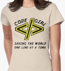 Codegirl Women's Fitted T-Shirt