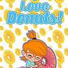 I love Donuts! by StudioDomingos