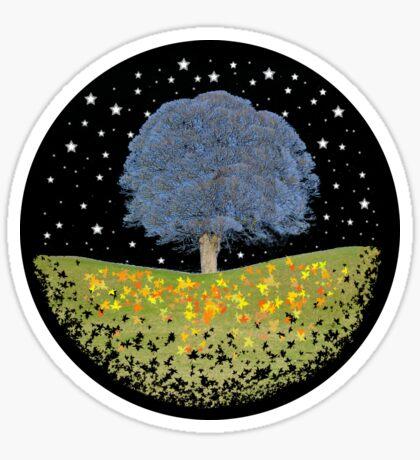 Starry Night Sky Sticker