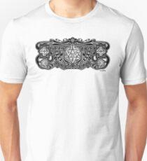 Würfel Deko D20 Slim Fit T-Shirt