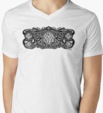 Dice Deco D20 Men's V-Neck T-Shirt