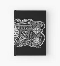Dice Deco D20 for Dark Items! Hardcover Journal