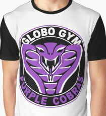 Globo Gym Purple Cobras Graphic T-Shirt