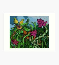 Botanical Boogie Art Print