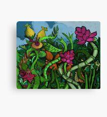 Botanical Boogie Canvas Print