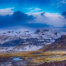 The base of Mýrdalsjökull Glacier by Chris Thaxter