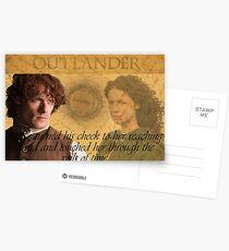 Outlander/Quote from The Scottish Prisoner. Postcards