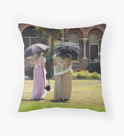 Regency Picnic Throw Pillow