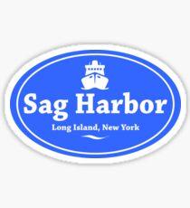 Pegatina Sag Harbor, Long Island