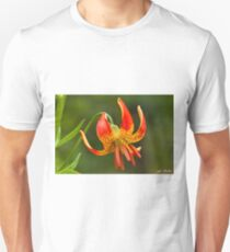 Leopard Lily in Bloom Unisex T-Shirt