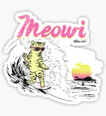 Meowi Sticker